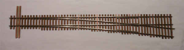 O SCALE 2-RAIL SWITCHES, O SCALE 2-RAIL TURNOUTS